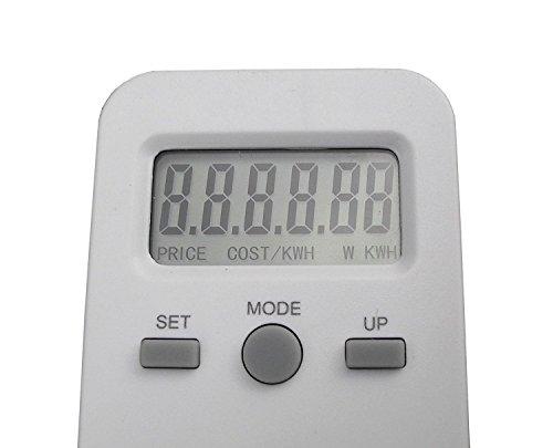 Generic A1.NUM.4049.CRY.1 Energie-Monitor, Energie-Monitor, Stromverbrauch, Mete-Nutzung, Überwachung, ty EL Power Meter Mon Socket NV_1001004049-WRUK23_1330 -