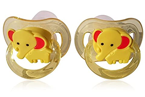 BAMBINI BEE Superior Silicone Baby Soothers, Hygiene Bundle Includes Soother Clips & Dust Covers (0 - 6 Months), BPA Free