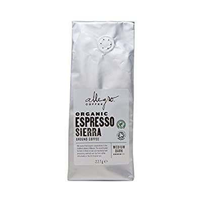 Allegro Coffee Organic Espresso Sierra Ground Coffee, 227 g by Whole Foods Market