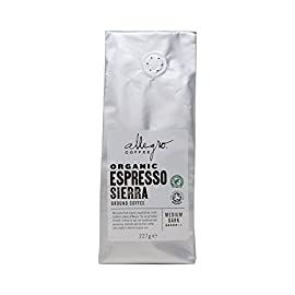 Allegro Coffee Organic Espresso Sierra Ground Coffee, 227 g