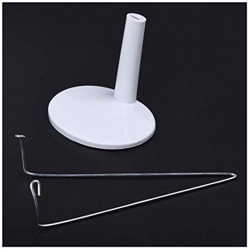 supporto Doll - SODIAL(R) Bambola regolabile Bianco stare 5,5 - 7,8 pollici / 14 - 20 cm