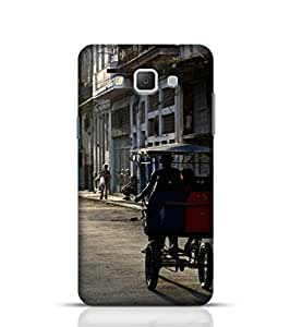 Samsung Galaxy A7 Phone Case for Streets Of Old Havana Back Cover for Galaxy A7 Multicolor