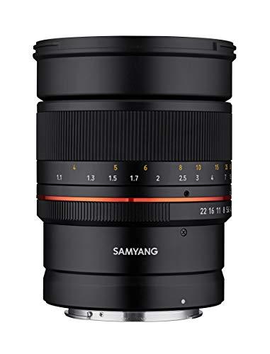 Samyang MF 85mm F1.4 RF Canon EOS R - manuelles Objektiv mit 85 mm Festbrennweite für spiegellose Canon Vollformat oder APS-C Kameras mit RF Anschluss, 72mm Filtergewinde, ideal für Portrait