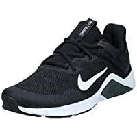 Nike Legend Essential, Men's Fitness & Cross Training Shoes, Black (Black/White-Dark Smoke Grey), 45 EU