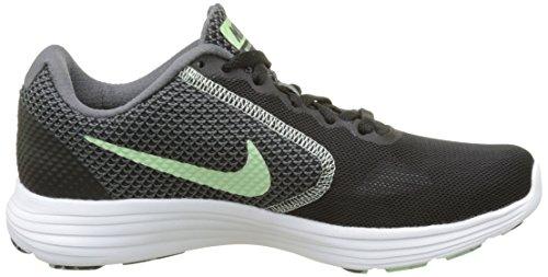 Multicolore 36 Nike Revolution 3 Scarpe Running Donna Black/Fresh 9oi