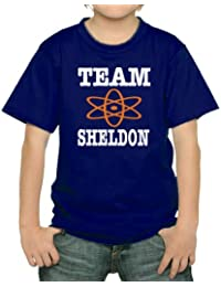 Team Sheldon Kinder T-Shirt div. Farben