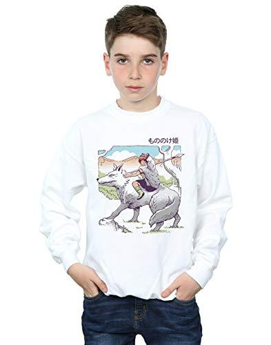 Absolute Cult Vincent Trinidad Jungen Shonen Wolf Princess Sweatshirt Weiß 12-13 Years