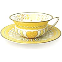 Wedgwood ( Wedgwood ) Harlequin Yellow Ribbon tea cup and saucer [ parallel import goods ] by Wedgwood