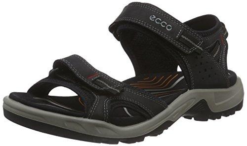 Ecco ECCO OFFROAD, Chaussures Multisport Outdoor homme Noir - Schwarz (BLACK02001)