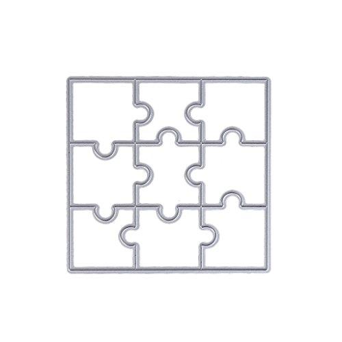 etall Stanzformen Schablone Vorlage Scrapbook Album Papier Karte Handwerk ()