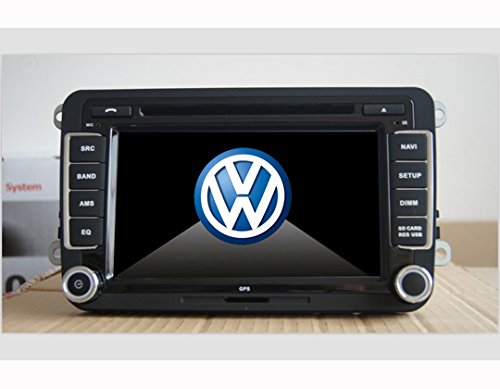 autoradio per volkswagen vw golf 5 con gps 7 pollici. Black Bedroom Furniture Sets. Home Design Ideas