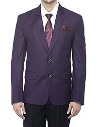 Favoroski Men's Raymond Wool Blazers - Dark Purple