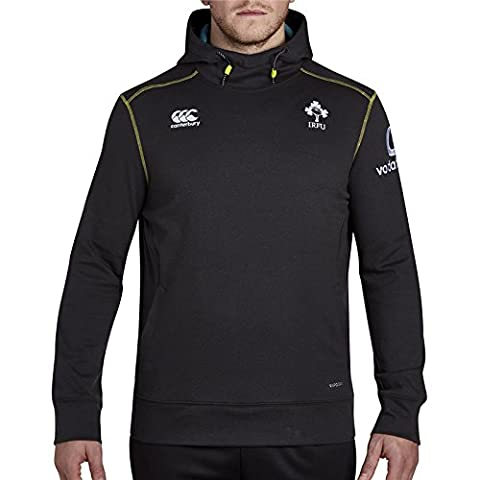 Ireland IRFU 2016/17 Vapodri Tech Fleece Hooded Rugby Sweat - Phantom - size XL