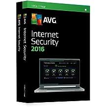 AVG Internet Security 2016 - 1 PC, 1 Year (DVD)
