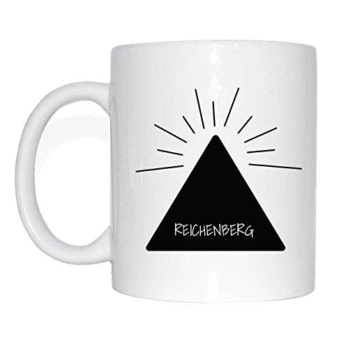 JOllify REICHENBERG Kaffeetasse Tasse Becher Mug M3935 - Farbe: weiss - Design 11: Hipper Hipster