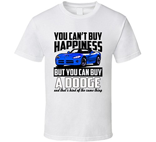 blue-2002-dodge-viper-cant-buy-happiness-cool-car-t-shirt-xlarge