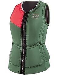 Jobe 554115004l impress Gillet Mujer, sudadera, color verde, tamaño large