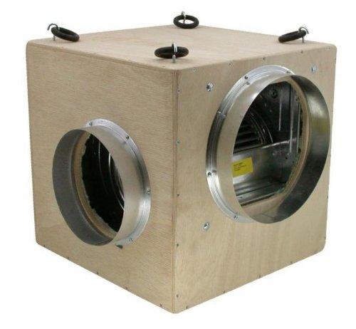 3250m³ Softbox MDF von FUTURE (1x315mm,2x250mm) Schallisoliert (Ein/Ausgang gegenüberliegend) (Grow-box-system)