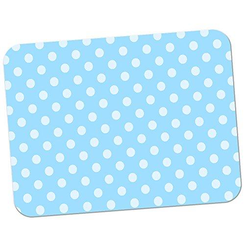 polka-dot-mania-tapis-de-souris-en-caoutchouc-epais-pour-un-confort-doux-toucher-finition-pastel-blu