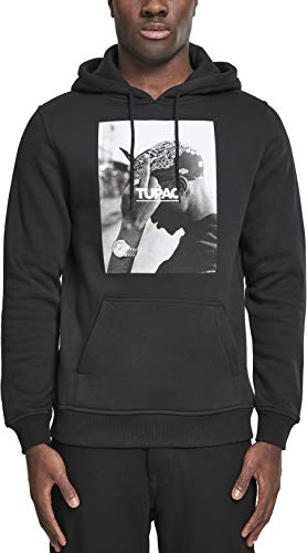 Mister Tee 2Pac F the World Hoodie, Farbe black, Size XS