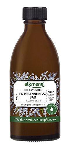 Bio-lavendel-bad (alkmene Entspannungsbad mit Bio Lavendel, Anti-Stress, 125 ml - 2er Pack (2 x 125 ml))