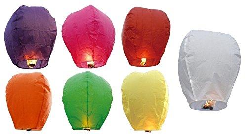 Amor romántico chino cielo linterna de papel con la lámpara enarbolan Kongming deseen para boda globos y luces (10 piezas/lot)