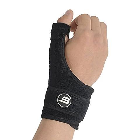 Bionix Thumb and Wrist Support Splint Brace - Chronic RSI & CTS Pain Relief, Arthritis, Tenosynovitis & Carpal Tunnel