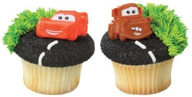 Oasis Supply Disney Cars Mater and McQueen 12 Count Cupcake Rings by DecoPac (Cars Cupcakes Disney)