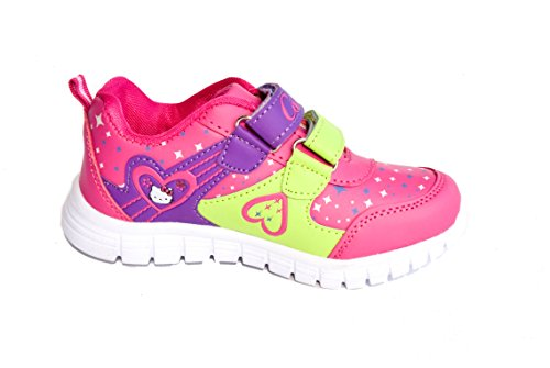 BTS, Sneaker bambini Multicolore (Pink/ Grün)