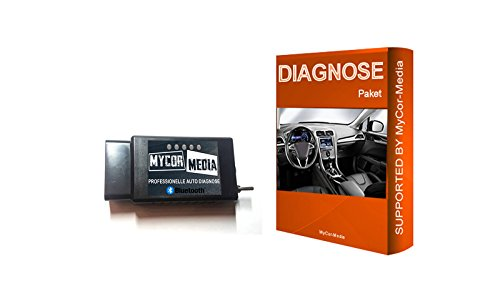 MyCor-Media Bluetooth Diagnose für Ford Mazda FORScan Focus Smax Mondeo  Kuga CMax Mondeo