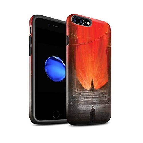 Offiziell Chris Cold Hülle / Glanz Harten Stoßfest Case für Apple iPhone 8 Plus / Hohe Königin Muster / Dunkle Kunst Dämon Kollektion Hohe Königin
