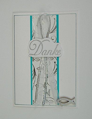 10 x Hochwertige Danksagungskarten zur Kommunion/Konfirmation
