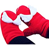 Fascigirl Christmas Gloves Mittens Warm Mittens Winter Gloves for Adults