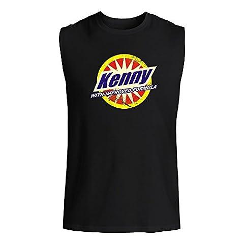 Idakoos Kenny with improved formula - Prénoms Masculins - Sans Manches T- shirt