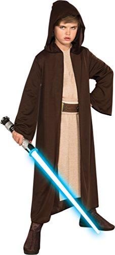 Star Wars Kostüm für Kinder, Kostümstil 1 - Jedi-Robe, , Größe M, Alter 5 - 7, Größe 1,27 m - 1,37 - Jedi Robe Kinder Kostüm