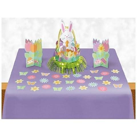 Easter Amscan-Kit di decorazioni da tavola - Yummy Bunny