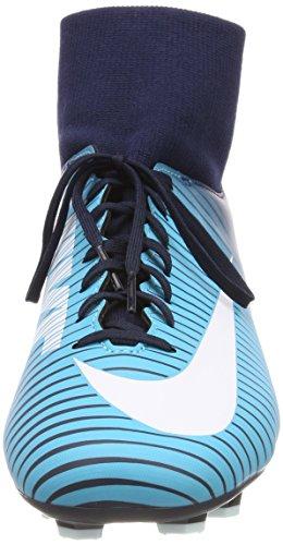 Nike Herren Mercurial Victory VI DF FG Fußballschuhe Blau (Obsidienne/bleu Gamma/bleu Gamma/blanc)