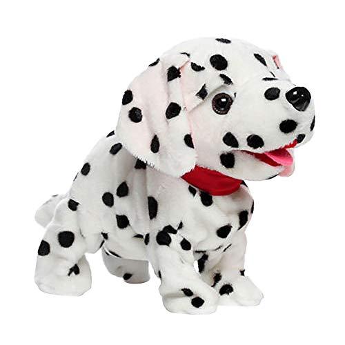 Roboter-Hund, 12shage Hunde Plüsch Spielzeug Husky Grau Intelligenz Roboter-Sprachsteuerung (B)