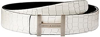 Tommy Hilfiger Frost White Men's Leather Belt (8903496045864)