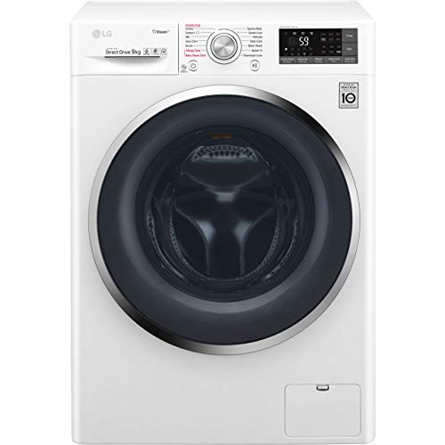 LG F4J7VY2WD A+++ Rated Freestanding Washing Machine - White