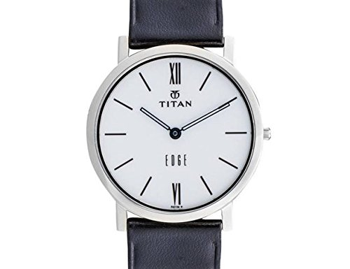 Titan Edge Analog White Dial Men's Watch - ND679SL01  available at amazon for Rs.7933