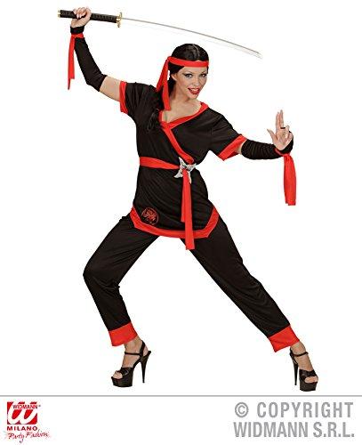 KOSTÜM - NINJA GIRL - 42/44 (L) (Ninja Girl Kostüme)