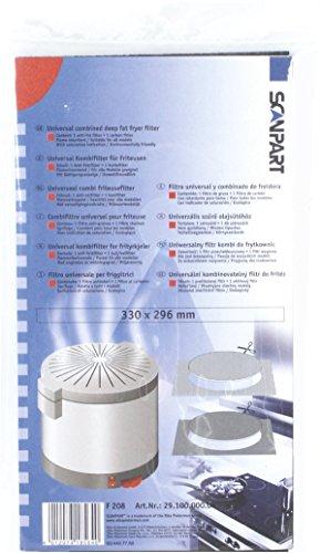 Scanpart Alternativ Friteusenfilter, universal einsetzbar 2910000004