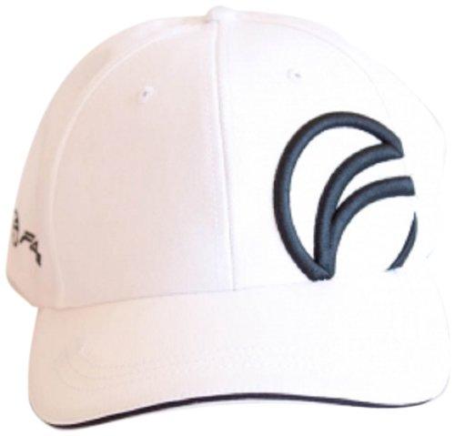 Cardinals Womens Hüte (Fayde erhöhter Logo Cap Herren Hut Weiß weiß / schwarz Einheitsgröße)