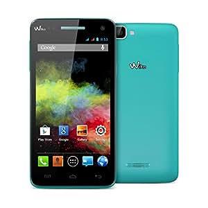 """Wiko Rainbow Smartphone débloque, 5"""", quadri cœur à 1.3GHz, 1Go de RAM, 8Go de mémoire interne, Android 4.4 Turquoise"""