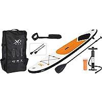 Stand Up Paddle Board 320x75x15cm orange Komplettset