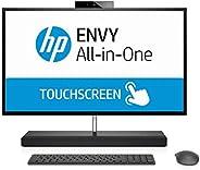 HP ENVY 27-b200ne All-in-One Desktop - Intel Core i7-8700T, 27-Inch QHD Touch, 1TB + 256GB SSD, 16GB, 4GB VGA-GeForce GTX 10