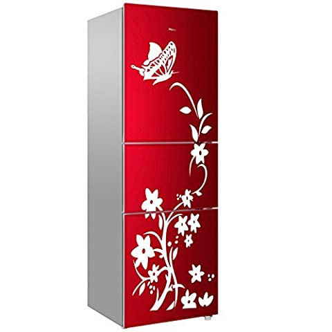 Coffled Wear-Resistant Fridge Decal Stickers,Fabulous Colorful and Diverse Rich Design Decoration for The