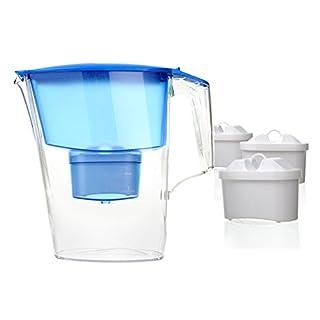 Aquaphor Time Water Filter Jug (Blue with 3 Cartridges)