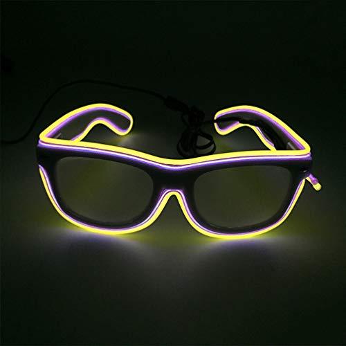 VVLOVE LED-Sonnenbrille mit LED-Licht, blinkende ()